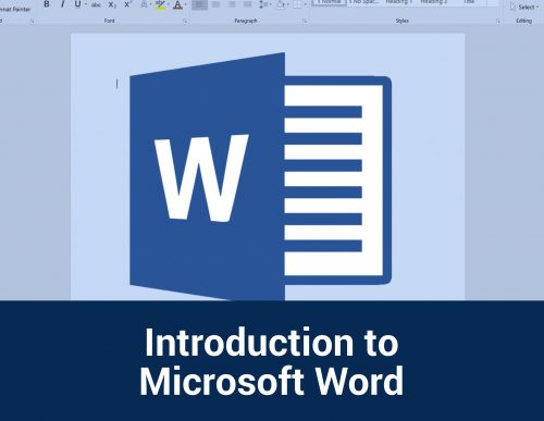 Introduction to Microsoft Word
